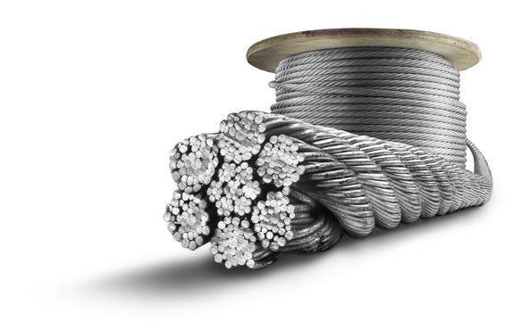 cấu trúc dây cáp thép